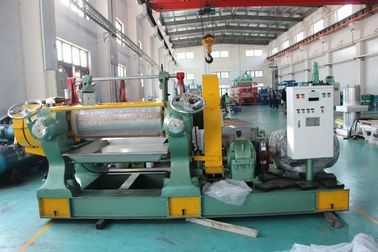 High Efficiency  Rubber Mixing Machine 3.6M Long Roller Rubber Kneading Thin Sheet Producer