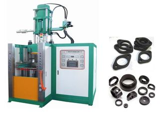 High Precision Rubber Injection Moulding Machine Dual Motor Stable Performance