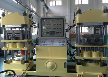 4 Cylinder Isobaric 400 Ton Clamp Force Car Brake Pads Molding Machine