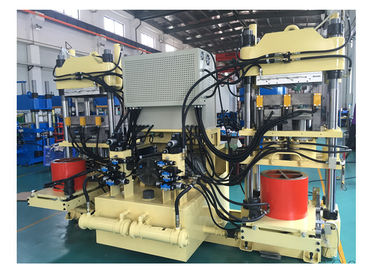 4 Cylinder Hot Press Rubber Brake Pad Making Machine With Full Automatically Adjust