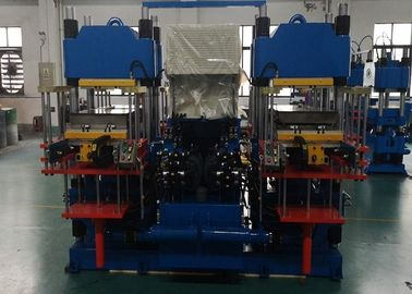 Front / Rear Opening Rubber Injection Moulding Machine For Brake Pads